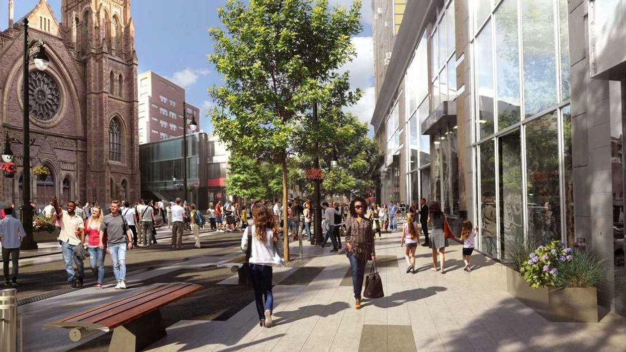 Here's What Montreal's All-New Sainte-Catherine Street Will Look Like