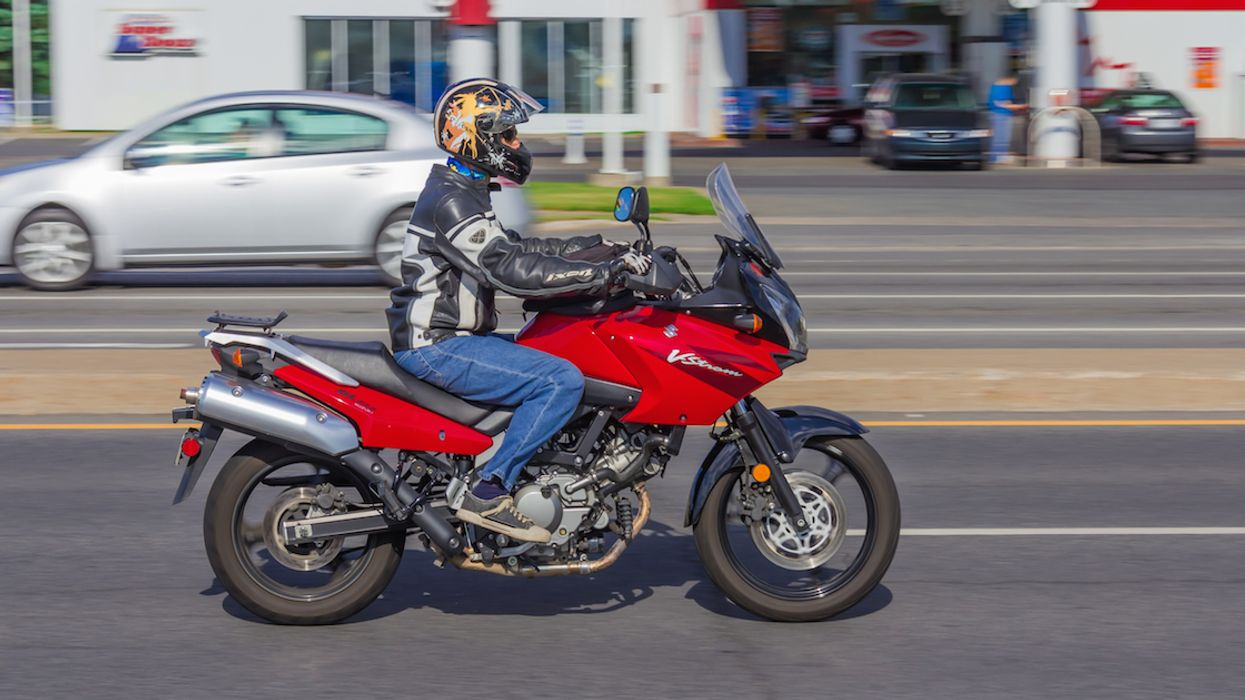 Quebec Motorcycle Driver Is Facing A $1229 Ticket For Going More Than Double The Speed Limit