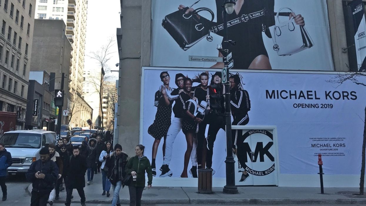 It's Official, Downtown Montreal Is Getting A Gigantic Michael Kors Store This Summer