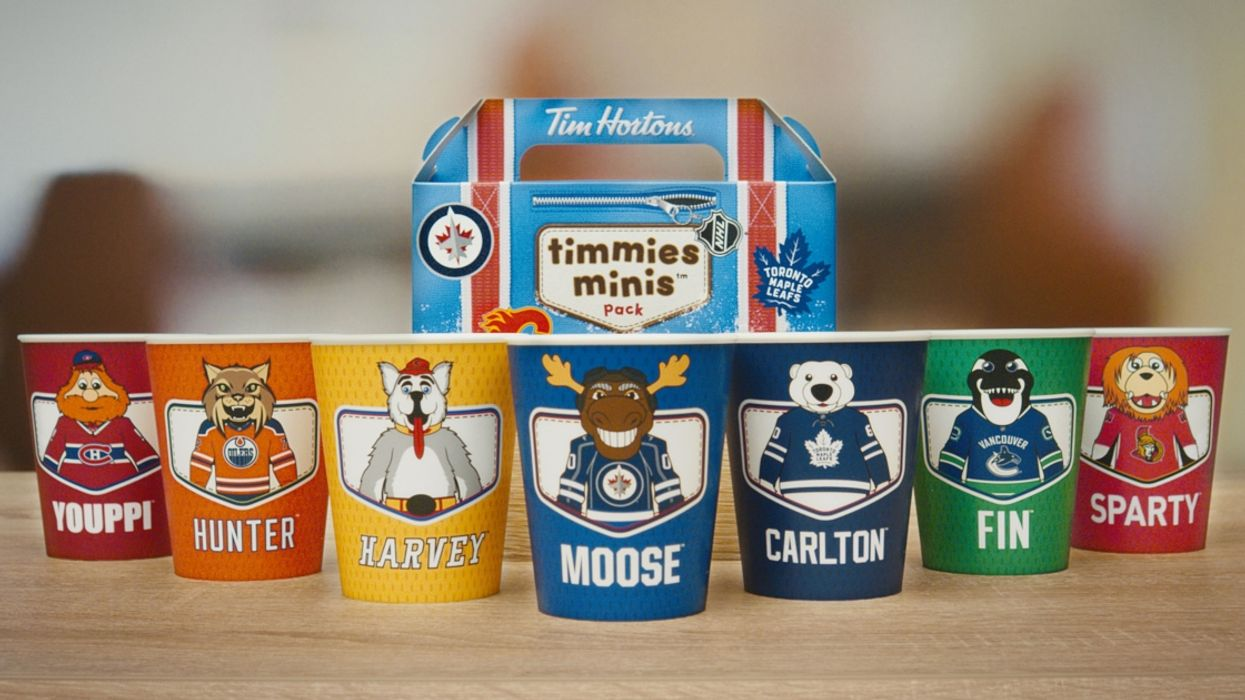 Tim Hortons Releases New Limited Edition Reusable NHL Cups And They Are Adorable