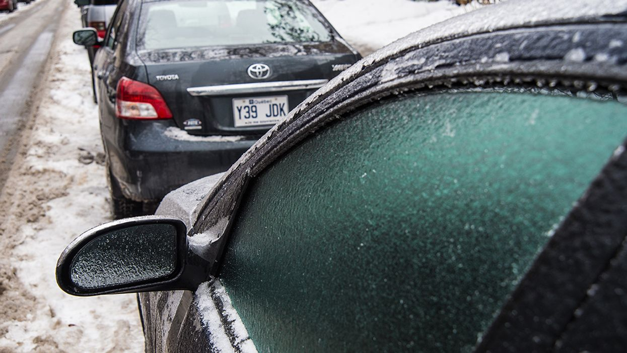 Montreal Is Getting An Ice Storm This Weekend, Quebec Is Getting A Snow Storm