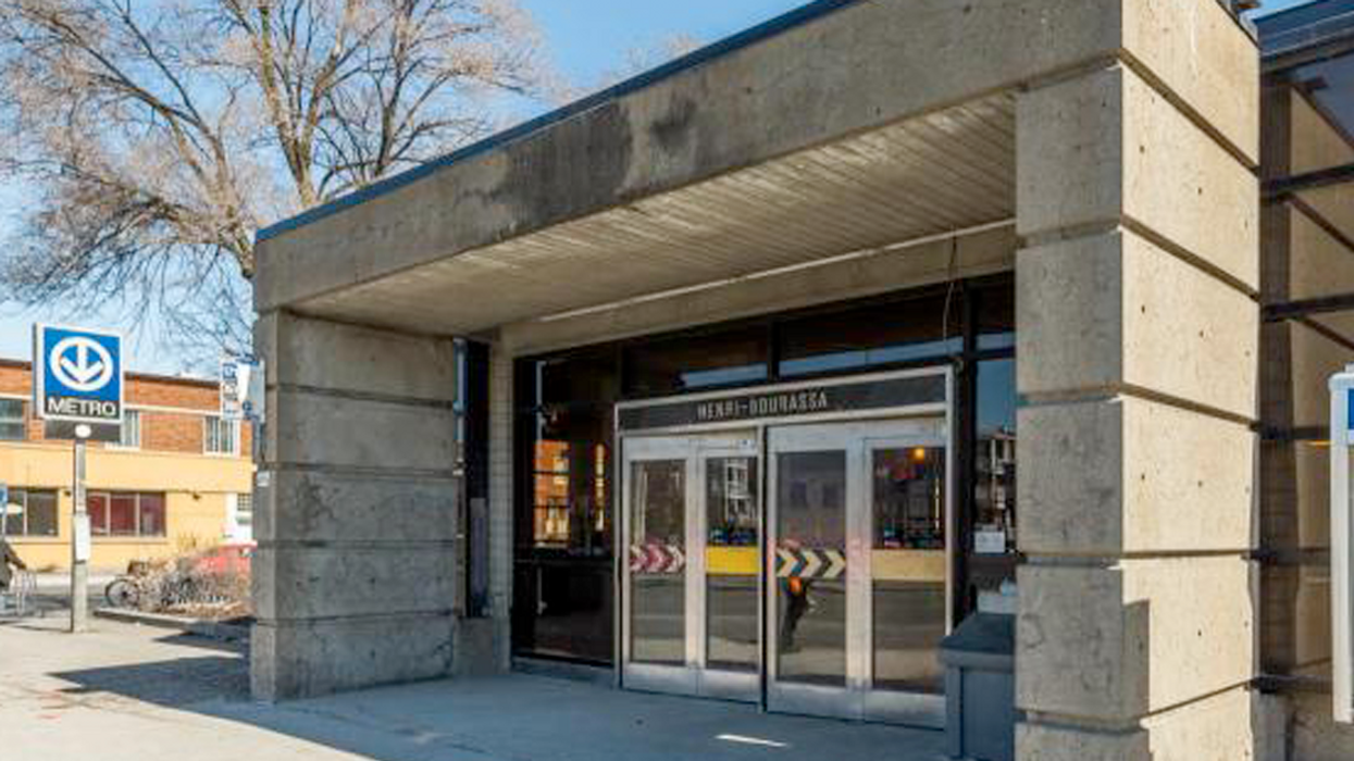 This Montreal STM Metro Entrance Will Be Closed All Summer