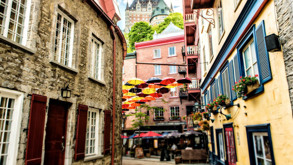 Quebec City Ranked #1 For Most Beautiful Street In The World