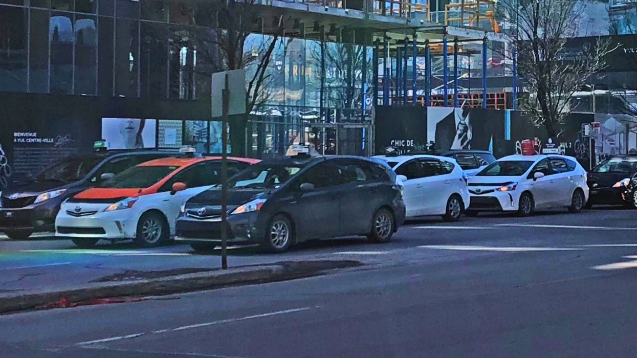 Taxis Are Planning On Continuing Their Strike Today In Montreal And Quebec City