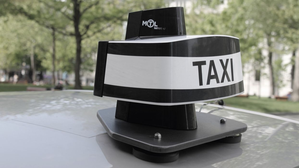 Montreal Taxi Drivers On Strike Are Refusing To Pick Up Clients All Day Today