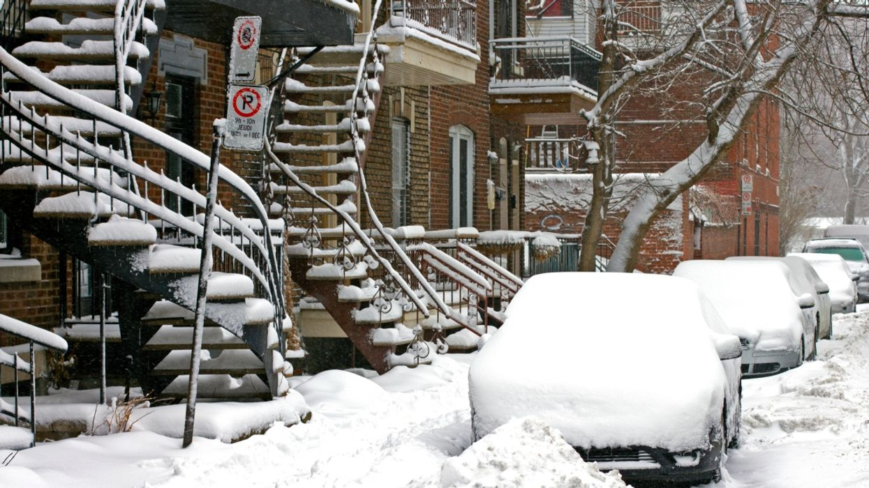 Montreal Is Going To Get Hit With 15cm Of Snow This Weekend