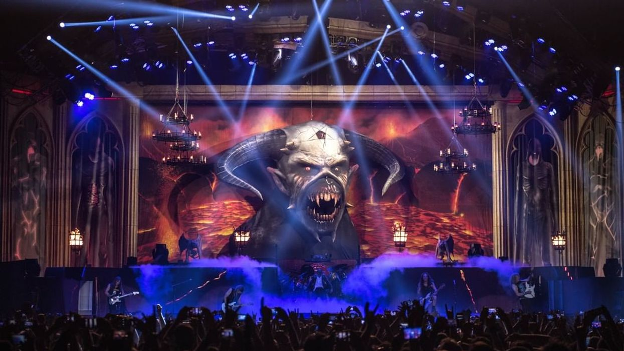 Iron Maiden Is Going On Tour And They're Performing In 7 Canadian Cities