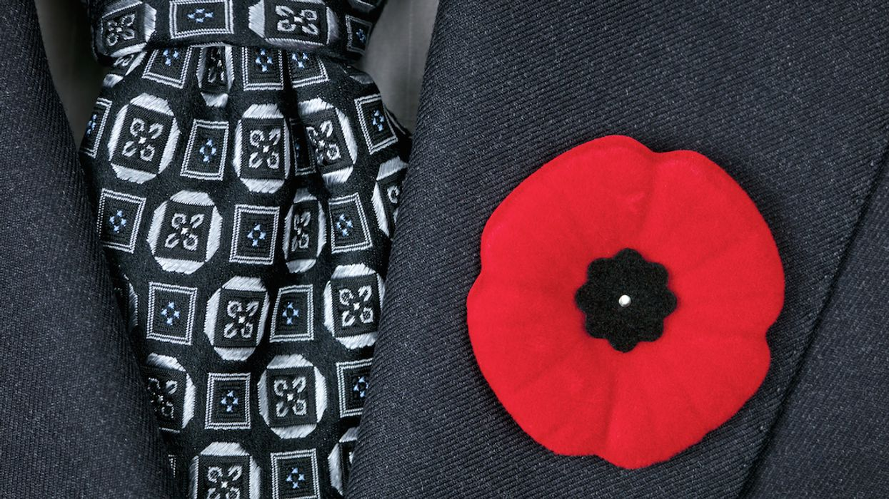 To Some People In Canada, The Remembrance Day Red Poppy Is An Offensive Symbol