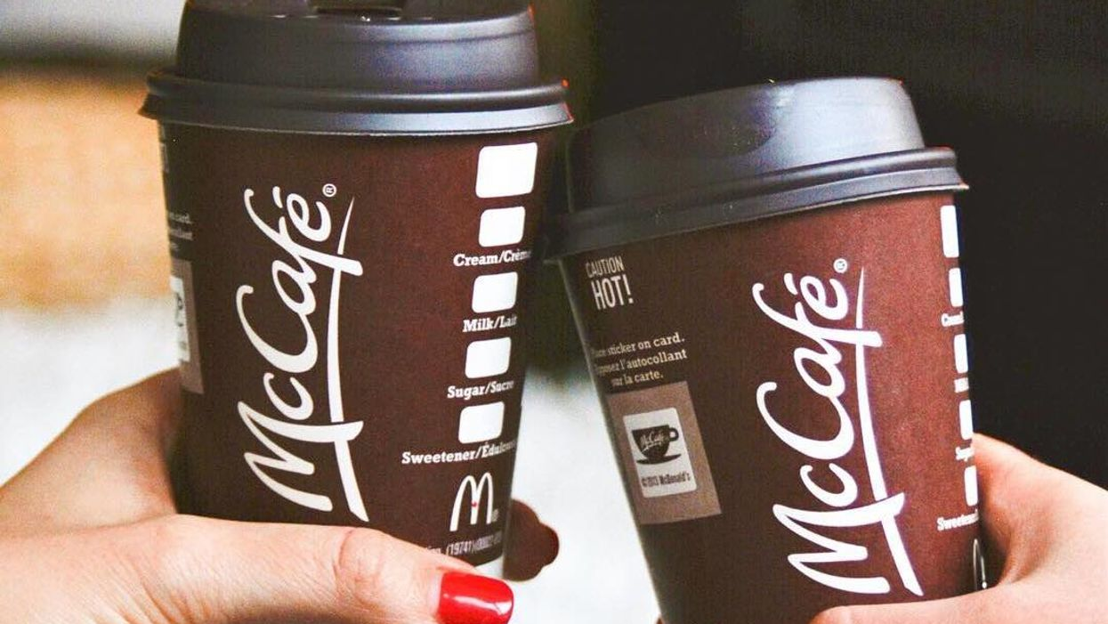 McDonald's Canada Is Offering $1 Coffee All Month Long
