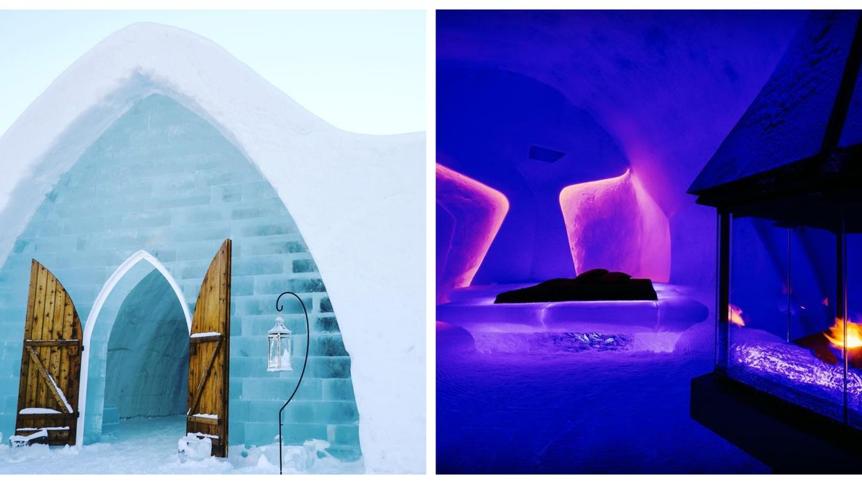 """You Can Stay At Canada's Iconic """"Ice Hotel"""" For 50% Off This Winter"""