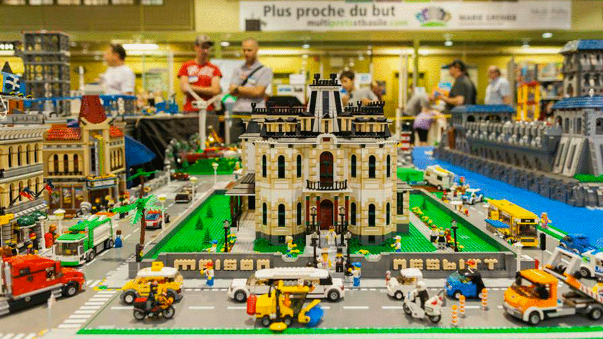 A Massive LEGO Festival Is Coming To Quebec This Weekend