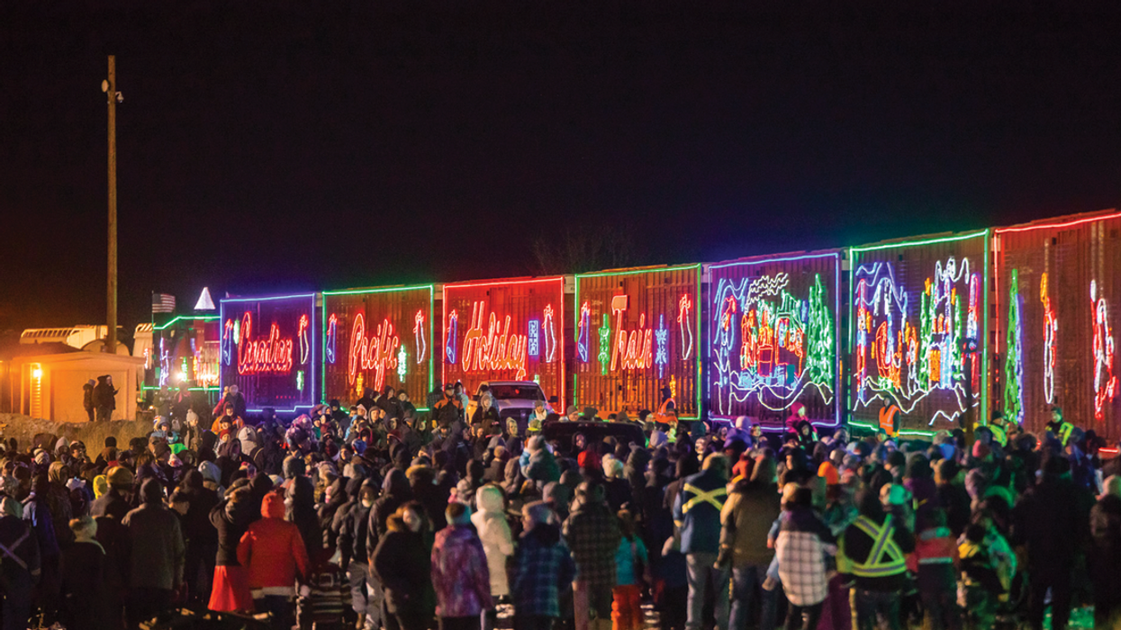 """Here's Where You Can See Canada's """"Christmas Train"""" In November"""