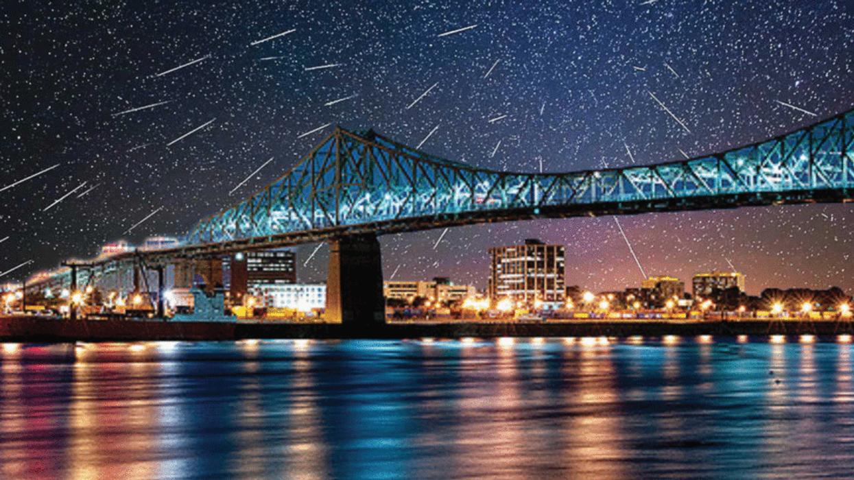 A Breathtaking Meteor Shower Will Be Visible Across Canada This Week