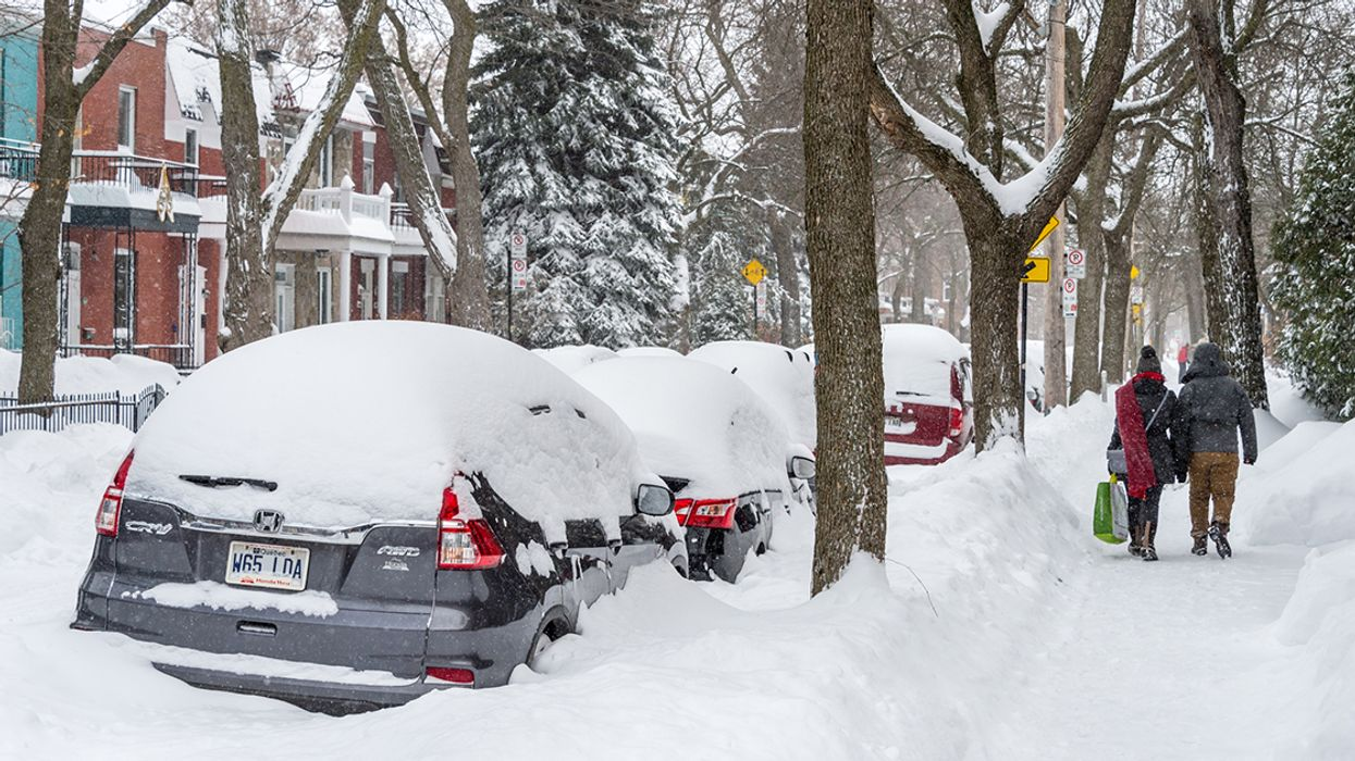 Montreal Is Getting Another 20cm Snowstorm Tomorrow