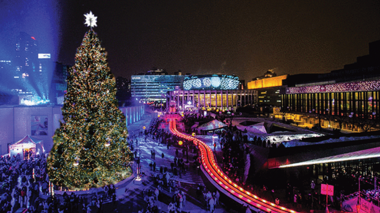 Downtown Montreal Is Getting A Giant Christmas Tree For The Holidays