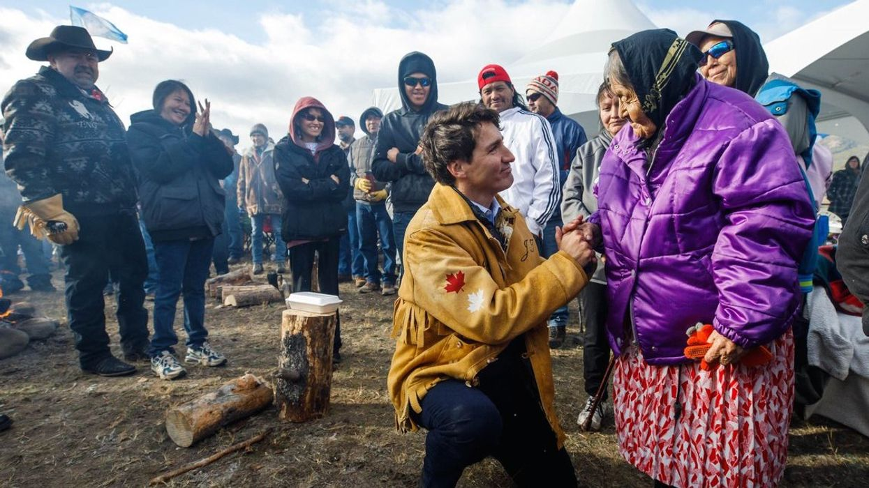"""Everybody Is Criticizing Trudeau For His """"Apology"""" To Indigenous People"""