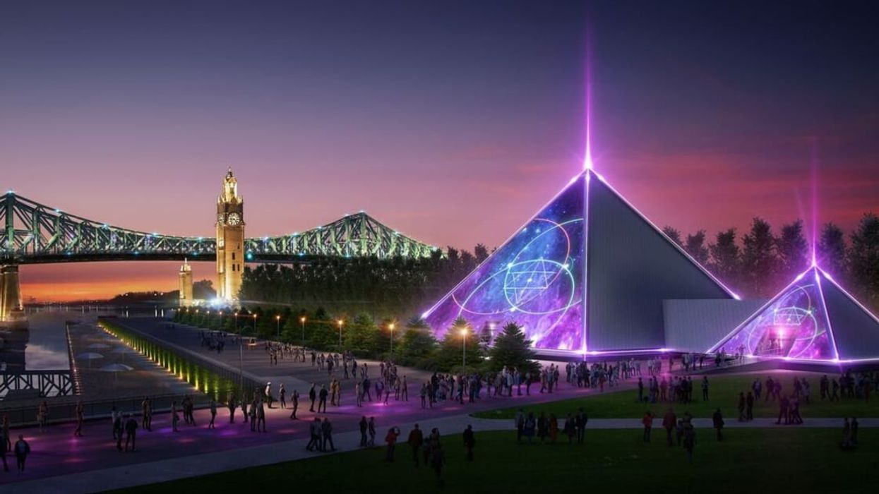Montreal's Old Port Is Getting Giant 'Pyramid Nightclub' Summer 2019