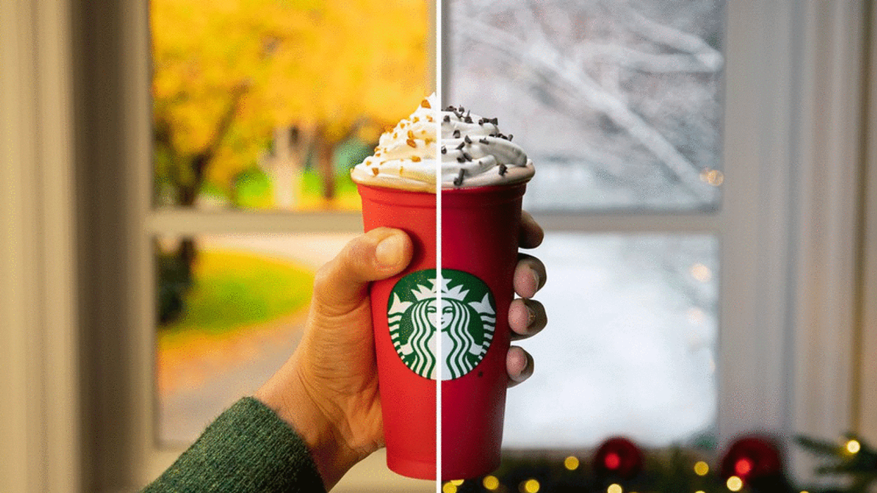 Starbucks Canada Released Its New Holiday Drinks Today And Customers Are Calling It A Total Disaster