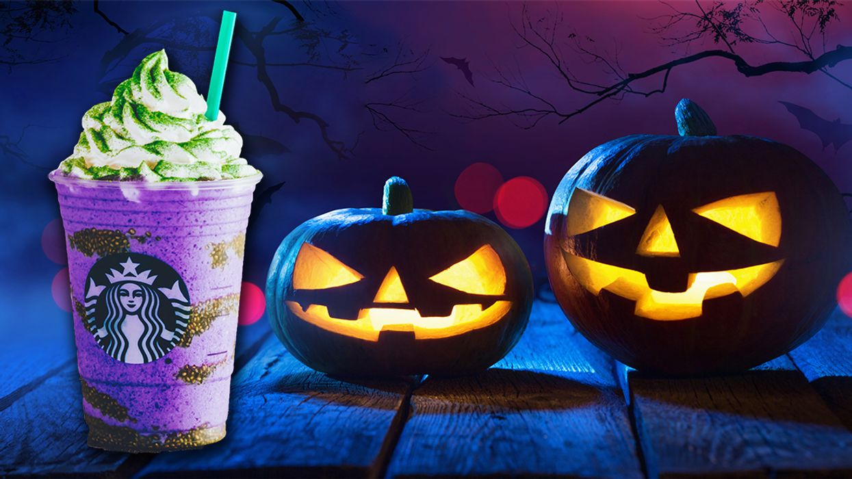 """You Can Now Get The All-New Starbucks """"Witch's Brew Frappuccino"""" In Canada"""
