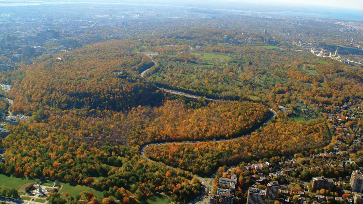 Montreal's Mount Royal Is Officially Opening Up To Cars Again