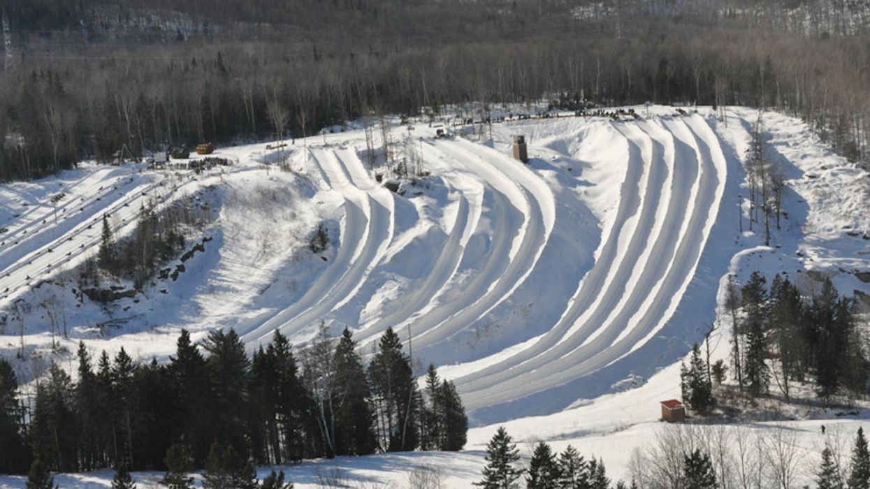This Gigantic Snow Tubing Hill Close To Montreal Might Be One Of The Most Intense In Canada