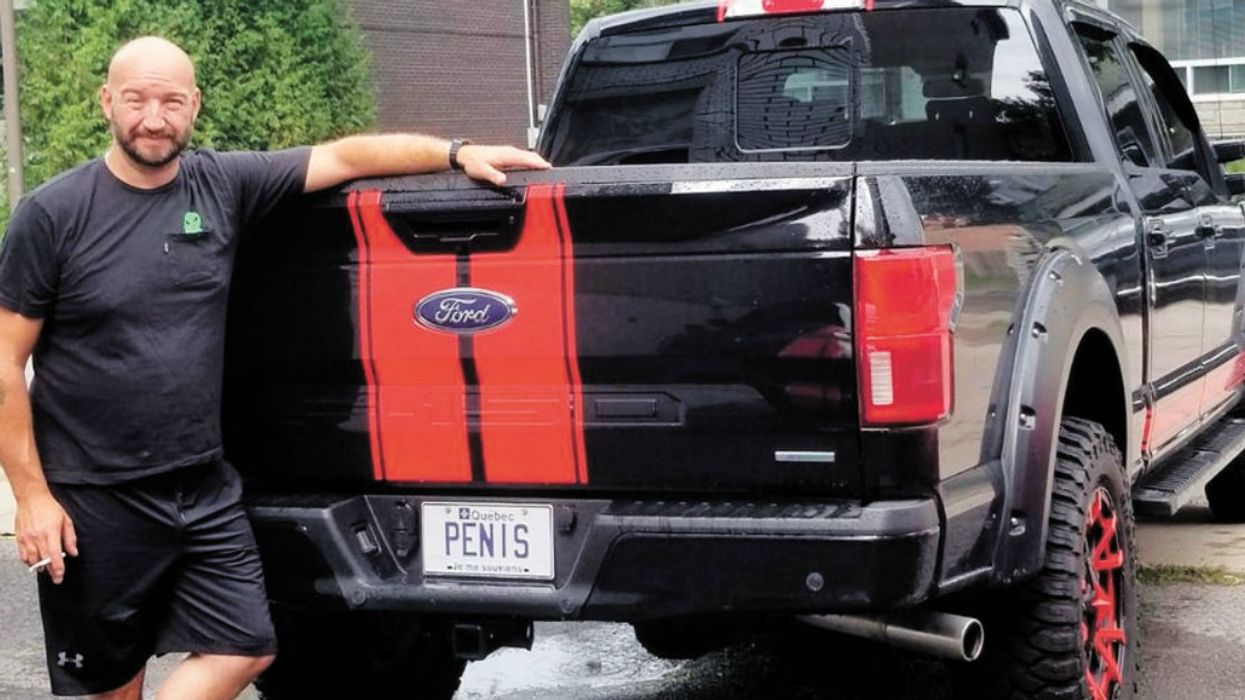 This Man Got The Most Hilariously Offensive Vanity Plates In Montreal