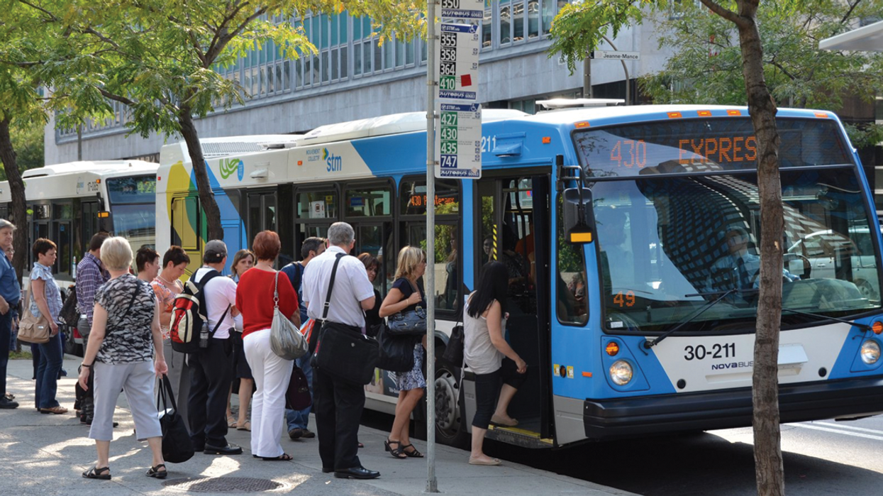 This Quebec Political Party Wants To Make The STM Half Price