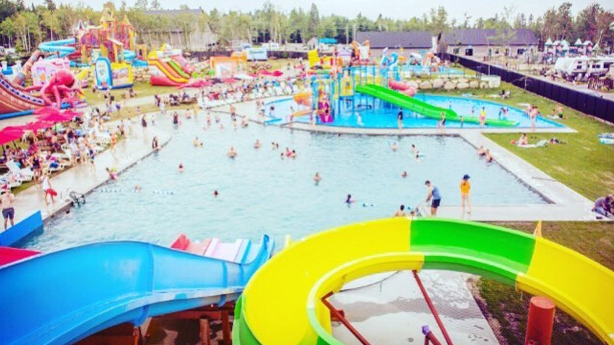 Quebec's Largest Campground Is Opening A Giant Water Theme Park