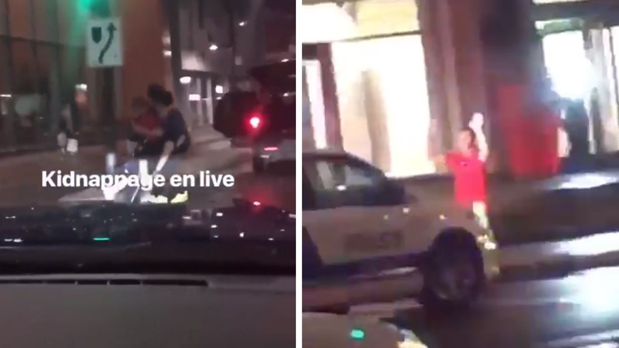 Video Showing Man Getting Kidnapped In Montreal