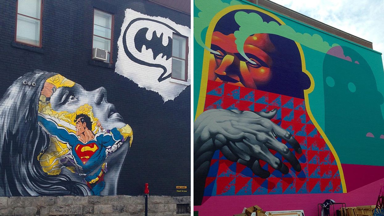 Montreal's 17 All-New Murals You Just Gotta Go And See