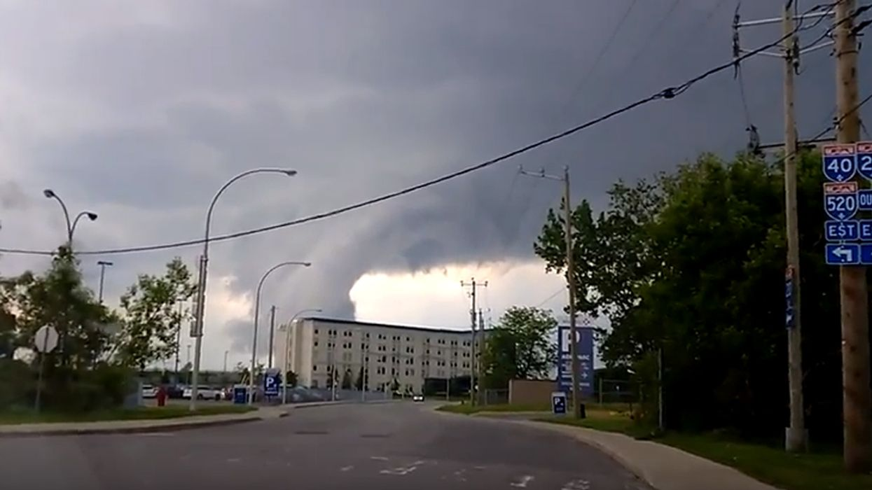 Environment Canada Has Issued A Tornado Warning For Montreal