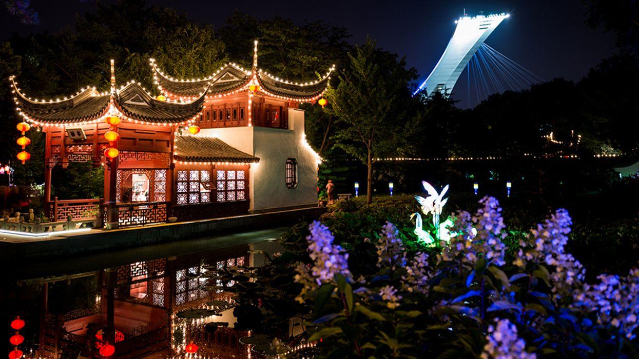"Montreal's 2018 ""Lantern Festival"" Will Be Lighting Up The Botanical Gardens"