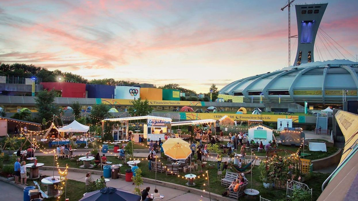 """Montreal Has An Olympic """"Bier Garden"""" And It's Open For The Season"""