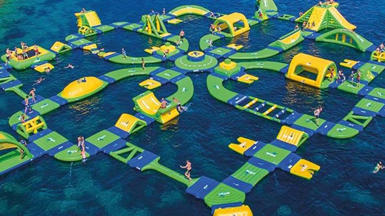 The Largest Inflatable Water Playground In Canada Is Right Here In Quebec (Video)
