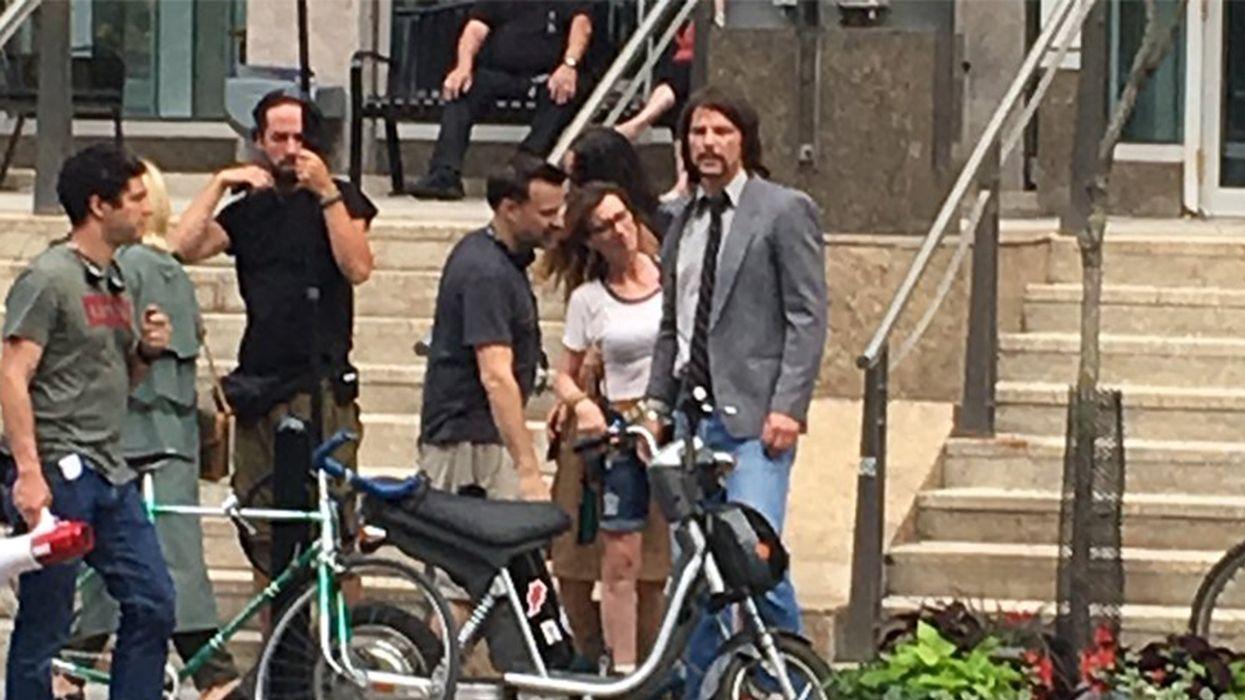 Josh Hartnett Spotted Downtown Montreal (Photos)