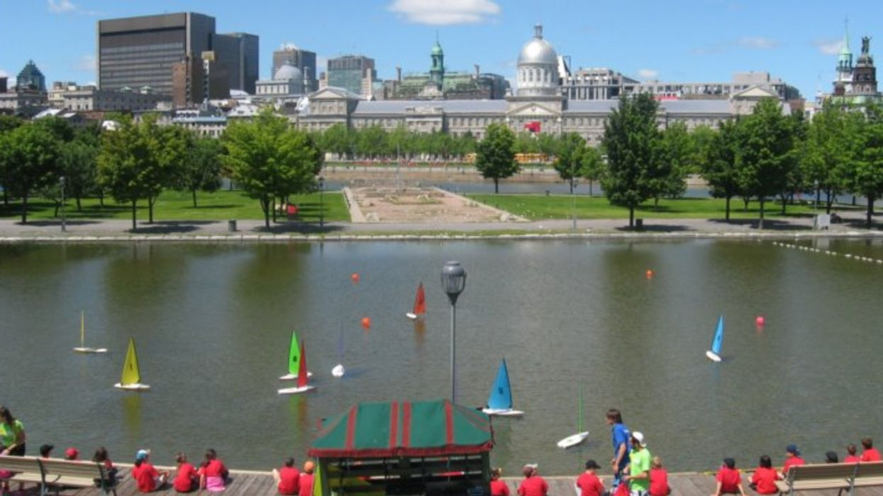 You Can Race Remote Controlled Sailboats In Montreal's Old Port This Summer