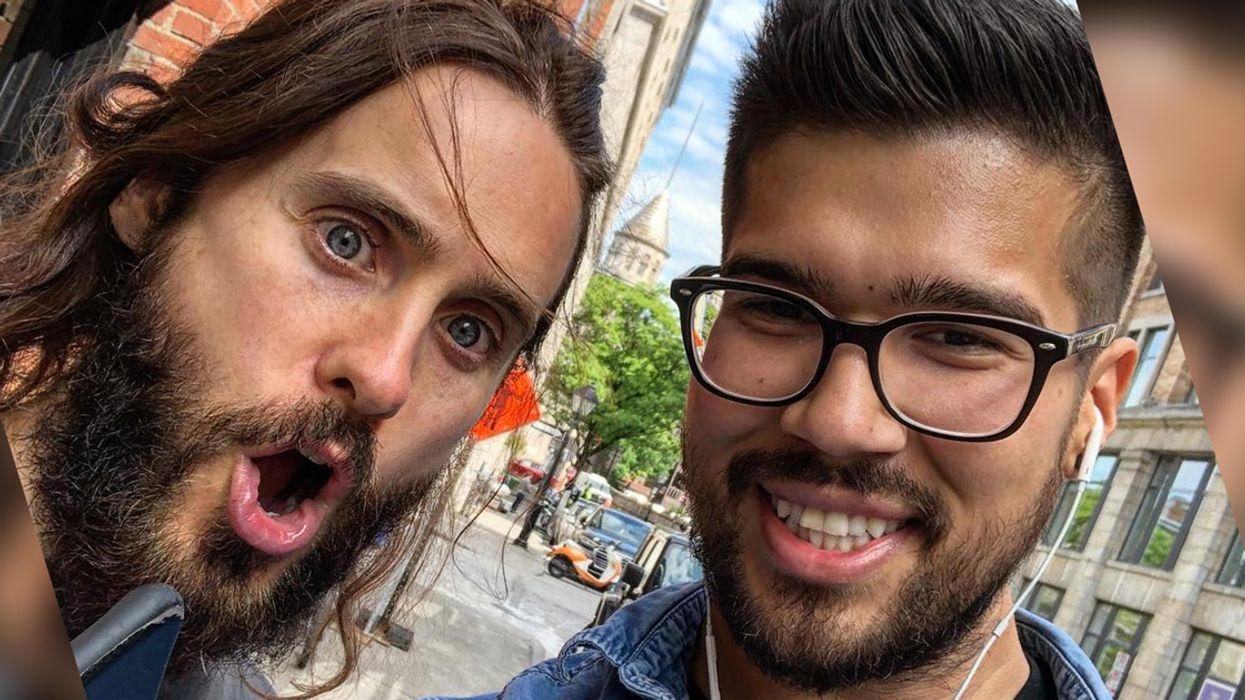 Jared Leto Spotted Taking Selfies With People In Montreal's Old Port