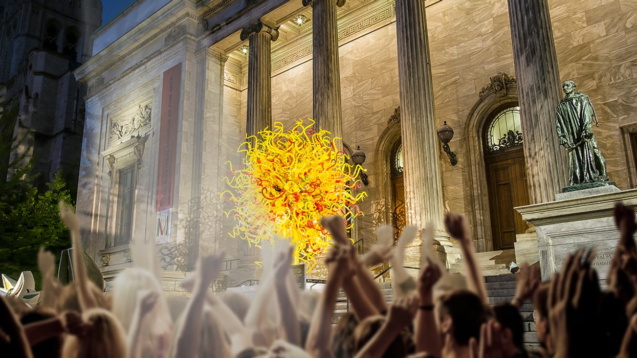 Montreal's Museum Of Fine Arts Is Opening A Huge Outdoor Party Bar