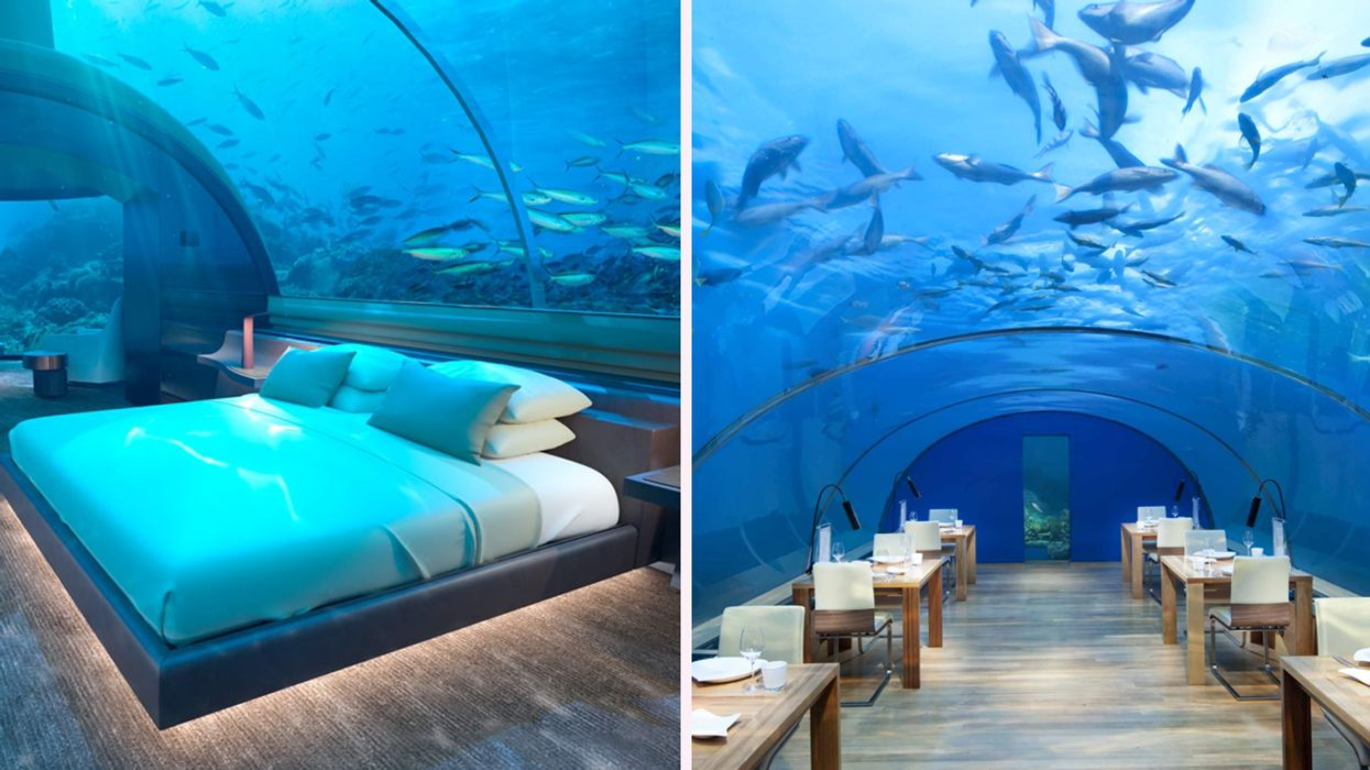 This Ridiculously Instagrammable Underwater Hotel Is The Ultimate Dream Vacation (Photos)