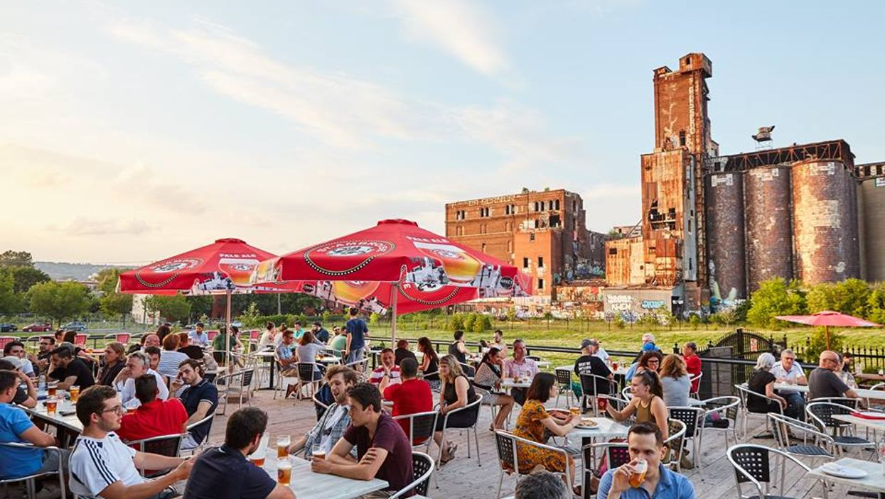 One Of Montreal's Biggest Terrasses Is Now Open On Lachine Canal