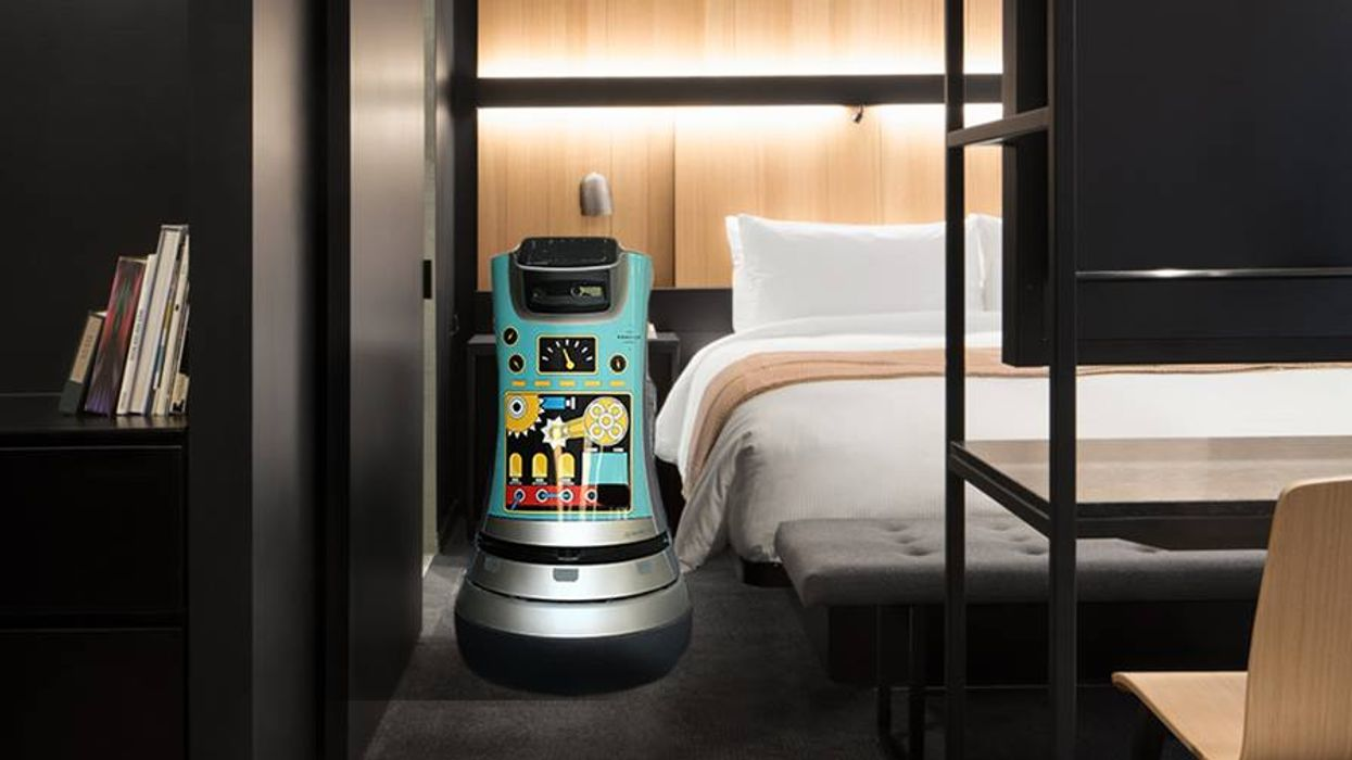 This New Futuristic Montreal Hotel Has Robots That Will Take Care Of You During Your Stay (Video)
