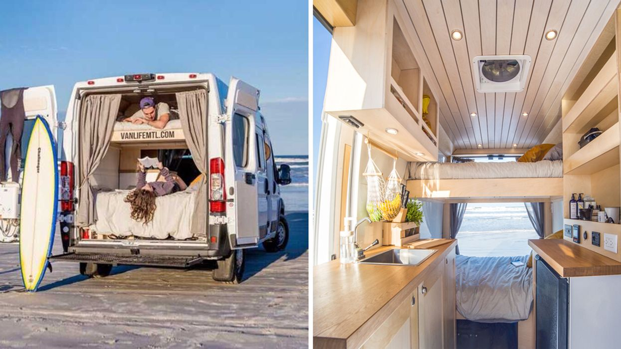 """You Can Now Rent These """"Tiny House"""" Camping Vans In Montreal"""