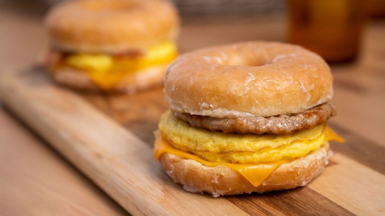 Tim Hortons Will Be Serving Breakfast Donuts Across Canada This Week