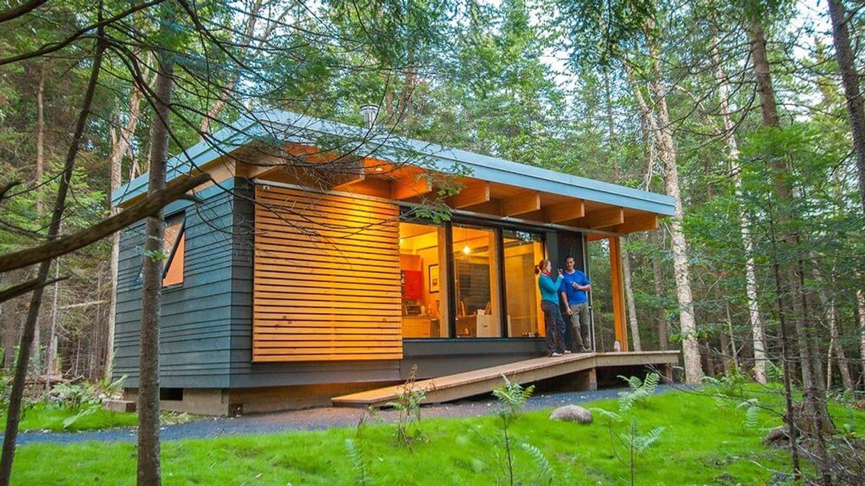 You Can Stay In One Of These Enchanting Nature Cabins At Any Provincial Park Across Quebec