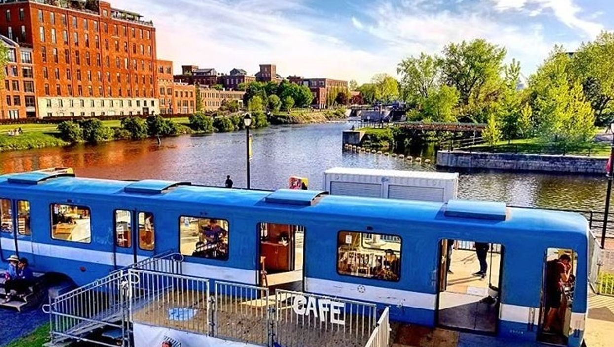 F-MR Station On The Canal Is Montreal's Newest Summer Party Village