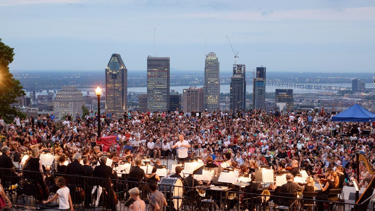 A Free Orchestra Concert Will Happen On Top Of Mount Royal This Summer