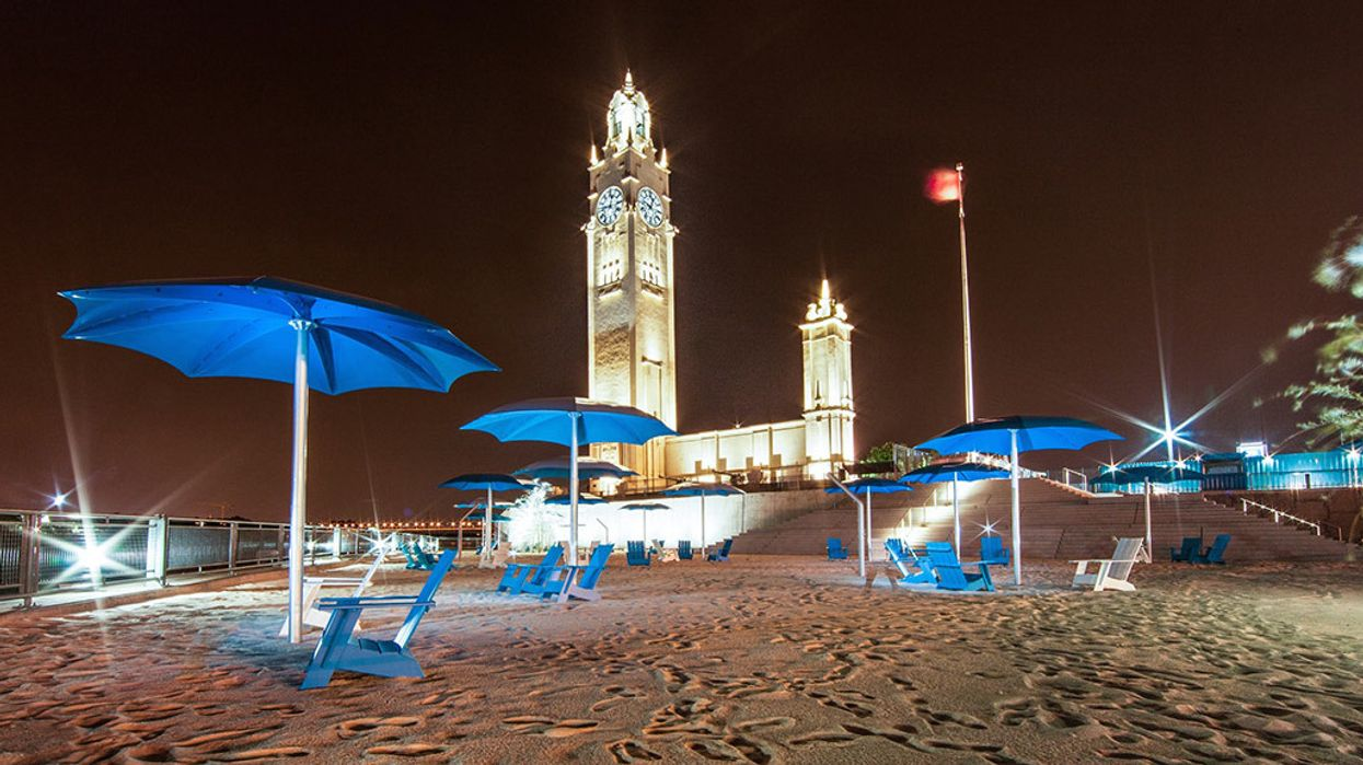 Montreal's Clock Tower Beach In The Old Port Opens This Weekend
