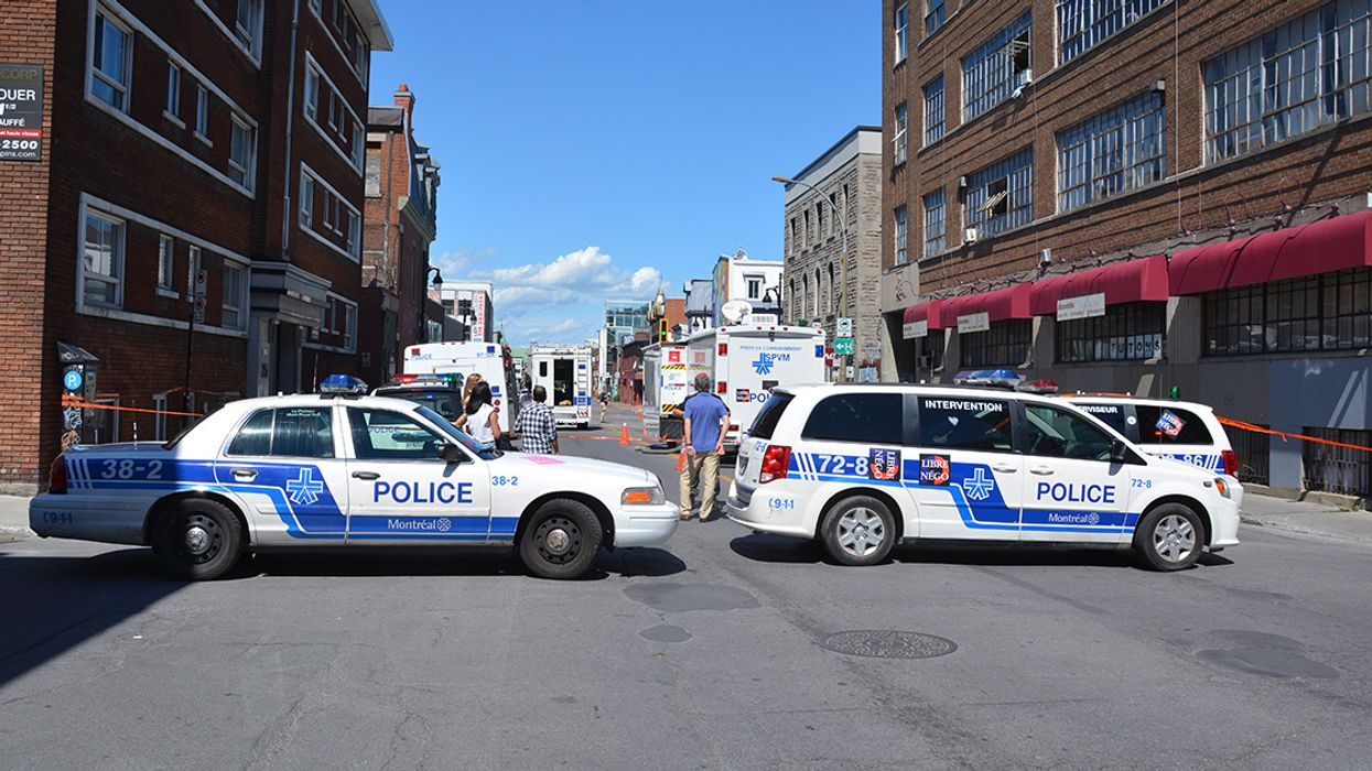 Attempted Murder Downtown Montreal, Suspect Is Still On The Loose