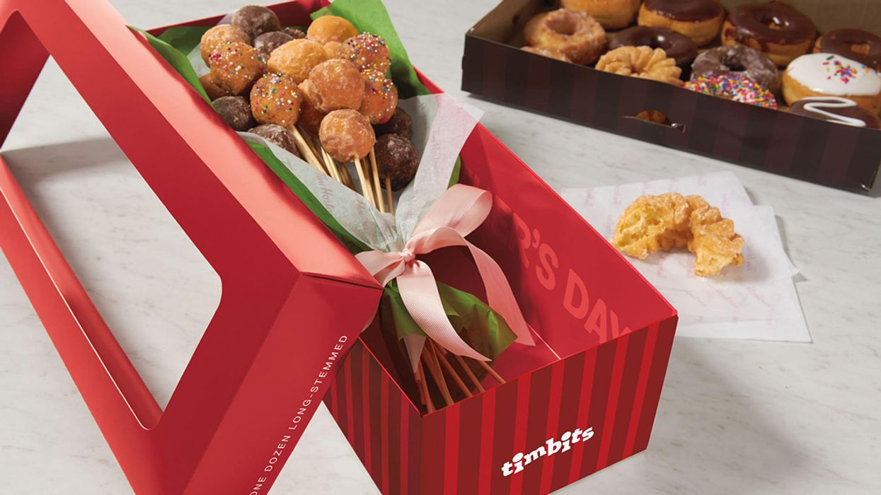 Tim Horton's Is Selling Timbit Bouquets For Mother's Day