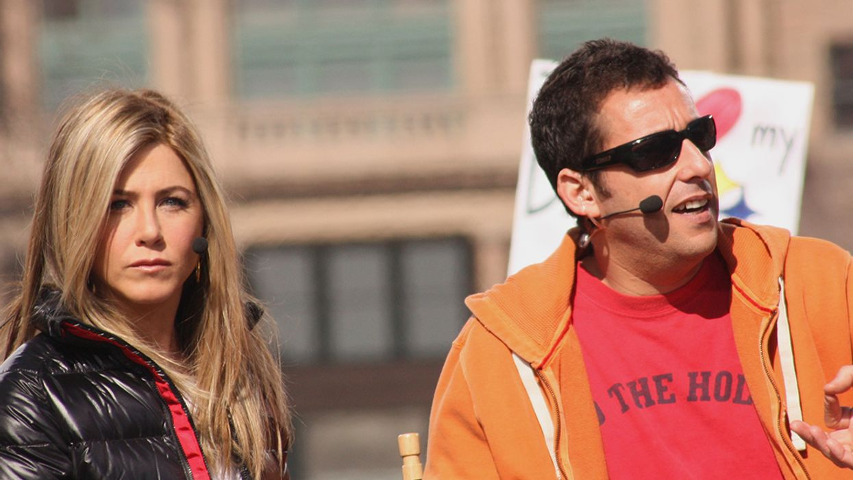 It's Official, Adam Sandler And Jennifer Aniston Are Coming To Montreal